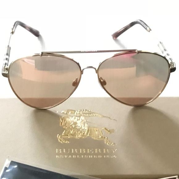 a727b33a8e30 Burberry Accessories - NEW BURBERRY Aviator BE3092Q Sunglasses
